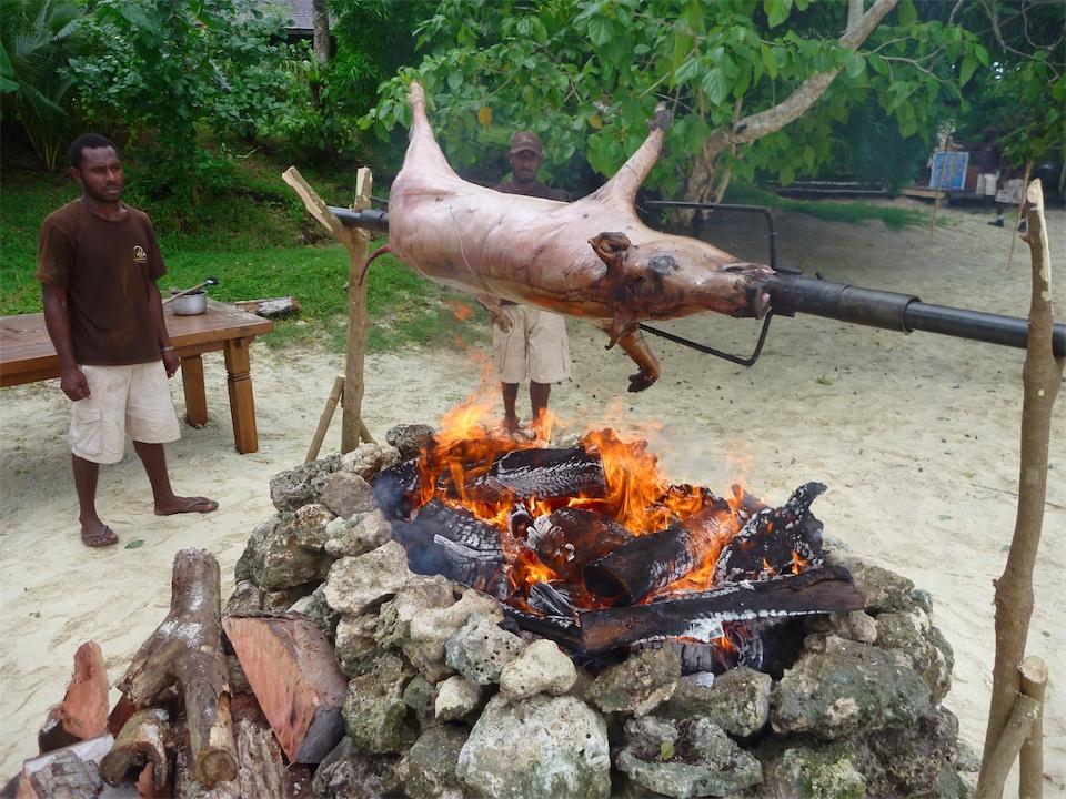 Pig On A Spit Kys Vanuatu