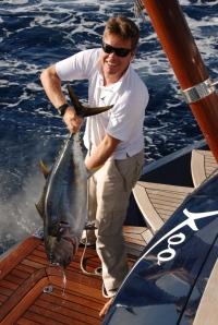 Sam and Yellowfin Tuna